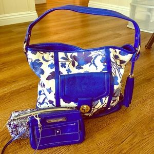 Isaac Mizrahi GORGEOUS Floral Bag & Accessories